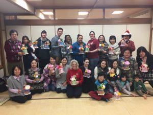訪日外国人向け日本文化体験「手ぬぐいケーキ」講座 日本文化体験