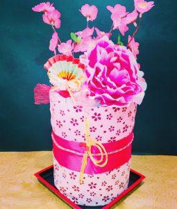 外国人に人気のおむつケーキ